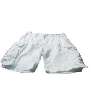 Ralph Lauren Mens Khaki Cargo Shorts! 44Bx10